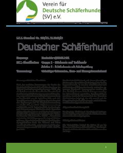 Rassekennzeichen des Deutschen Schäferhundes