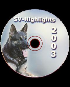 """CD """"Highlights"""" 2003"""