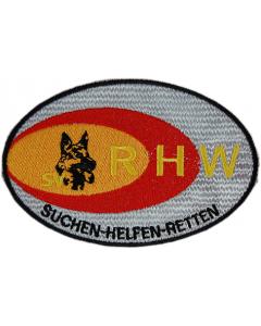 """Stickabzeichen """"Rettungshundewesen"""""""