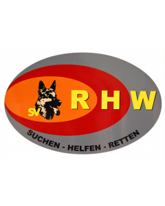 Aufkleber Rettungshundewesen