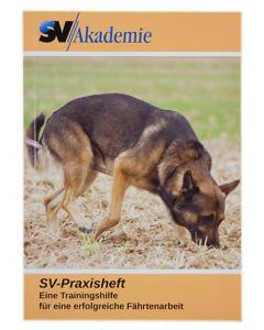 """SV-Praxisheft """"Trainingshilfe für eine erfolgreiche Fährtenarbeit"""""""