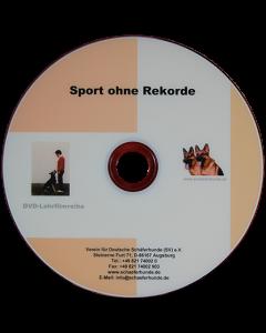 "DVD ""Sport ohne Rekorde"""