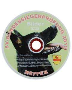 """Bilder-DVD """"Bundessiegerprüfung"""" 2015"""