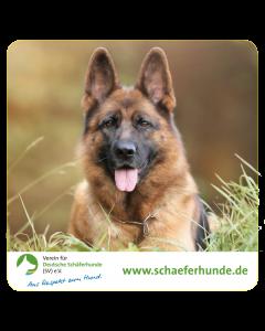 """Aufkleber """"Verein für Deutsche Schäferhunde (SV) e.V. - Motiv Kopfbild"""""""