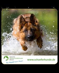 """Aufkleber """"Verein für Deutsche Schäferhunde (SV) e.V. - Motiv Wasser"""""""
