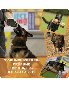 "Aufkleber ""SV-Bundessiegerprüfung 2019 IGP & Agility"""