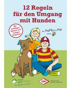 """Broschüre """"12 Goldene Regeln"""""""